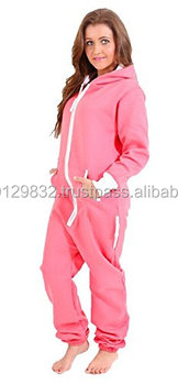 damen jumpsuit fleece