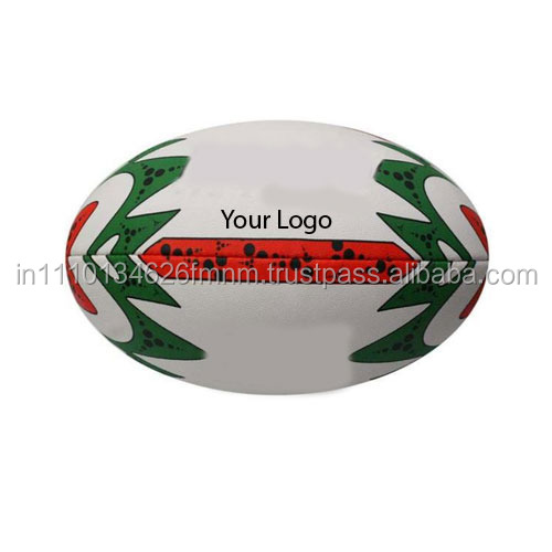 Size 5 PVC machine stitched good quality promotional rugby ball