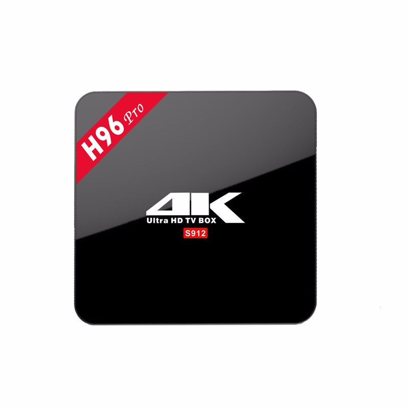 Factory android tv box H96 Pro Amlogic S912 2gb 16gb Android 6.0 Octa Core 4K kd palyer OTT tv box download hindi video hd songs