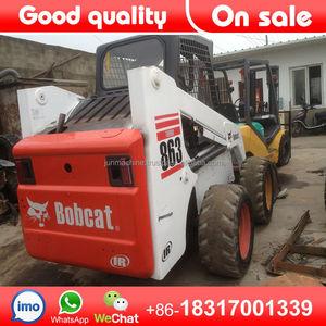 Used skidsteer Bobcat S863 mini skid steer loader for sale