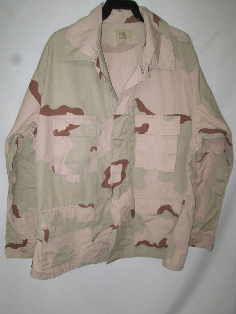 Desert camouflage shirt Med Long Camo DCU Jacket military