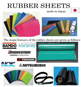 Safty and durable latex rubber sheet with multiple functions for industrial use