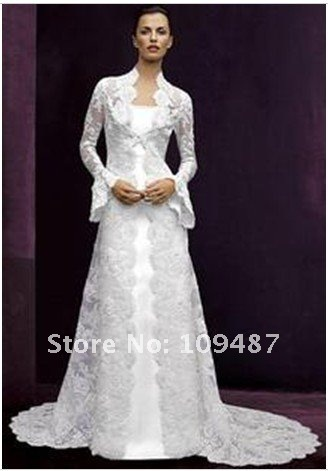 Wedding Dress With Coat