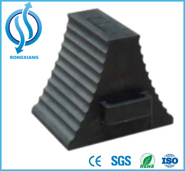 Truck stopper wheel chock rubber wheel chock