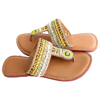 Manufacturer Womens Leather Slippers