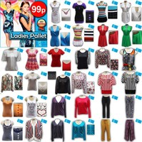 LADIES MIXED CLOTHING PALLET / CLEARANCE-LPCLE2