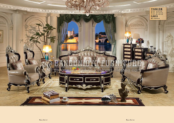Classic Italian Style Sofa Set Living Room Furniture Luxury French Dubai Sofa Set Antique