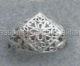 silver jewelry ring finger whole,silver jewelry ring,indian ring silver