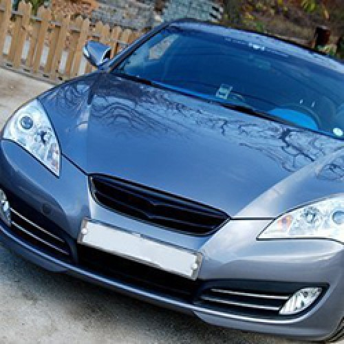 [ARTX] Hyndai Genesis Coupe - Carbon Gold Pearl Tuning Grille(no.2175)