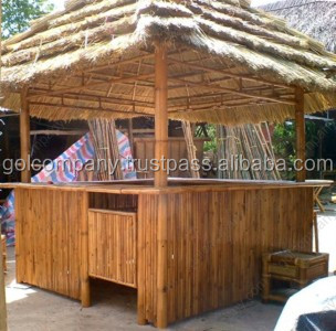 en gros grand bambou maison bar bambou tiki bar cabane. Black Bedroom Furniture Sets. Home Design Ideas
