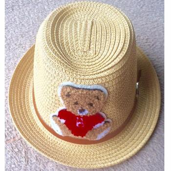 16bee386360aae Custom Straw Fedora Hat For Kids By Julie Caps - Buy White Fedora ...