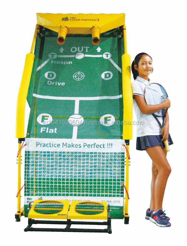 The Tennis Partner / Tennis Trainer Machine / Made in Korea