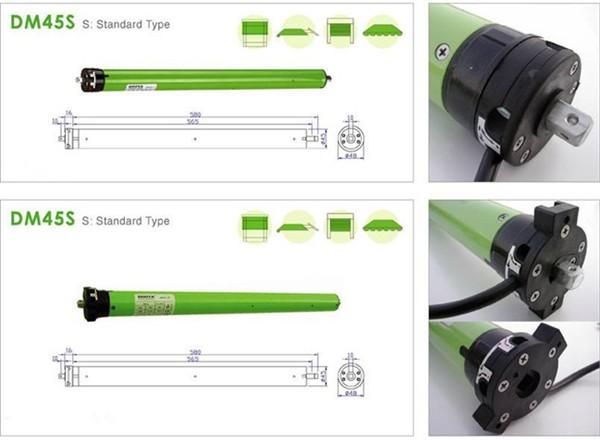 Fast electrical roller shutter motor kit for warehouse for Roller shutter motor installation