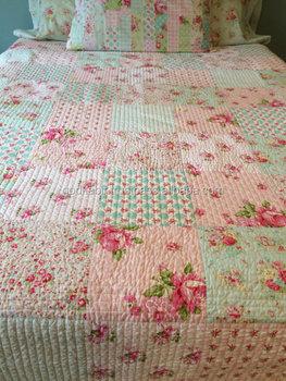 Beautiful Indian Wholesale Price Handmade Patchwork Quilt Floral ... : patchwork quilt handmade - Adamdwight.com