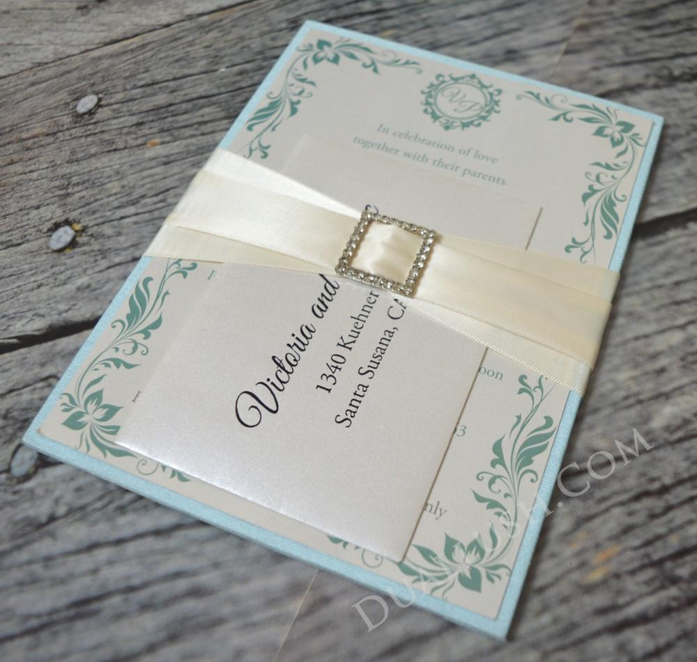 satin wedding invitations - 28 images - silk wedding invitation box ...