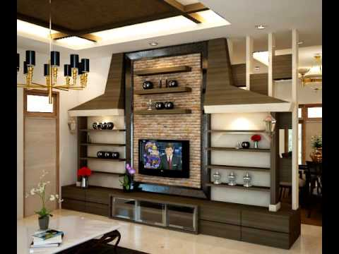 Get Quotations Living Room And TV Cabinet Interior Design Ideas