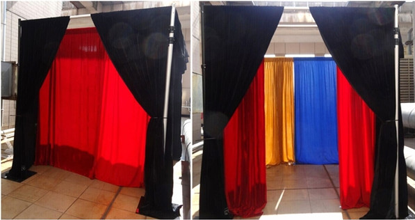 Pipe Drape Support Trade Show Display Booth Exhibition Booth