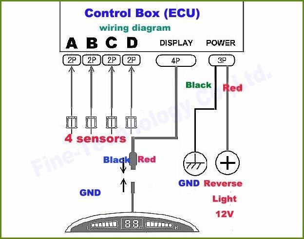 parking sensor wiring diagram parking wiring diagrams