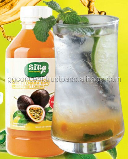 Passion Fruit Crush 1L, Fruit Juice, Fruit Smoothie