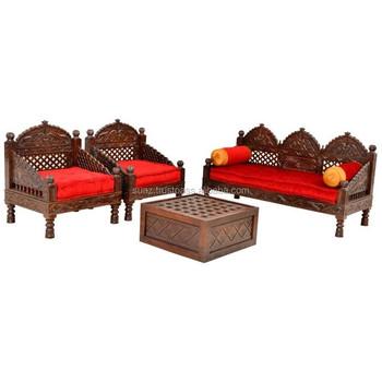 Wooden Sofa Set Designs Luxury Wood