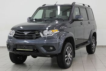 UAZ Patriot Limited 2.7L / 128 5MT Dark gray metallic - EXPORT READY