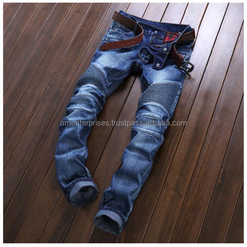 Mens Skinny Jeans Stretch Slim Fit Designer Denim Cotton 5 Pocket Trousers Pants