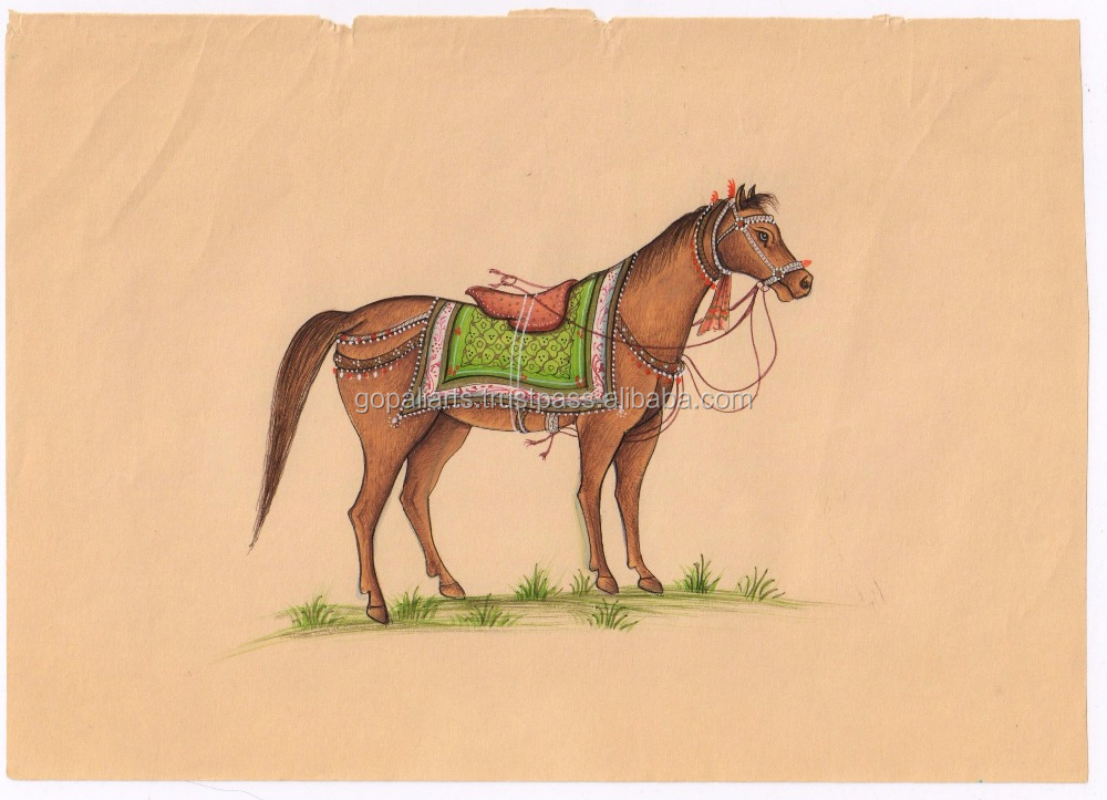 Indian Horse Painting, Indian Horse Painting Suppliers and ...