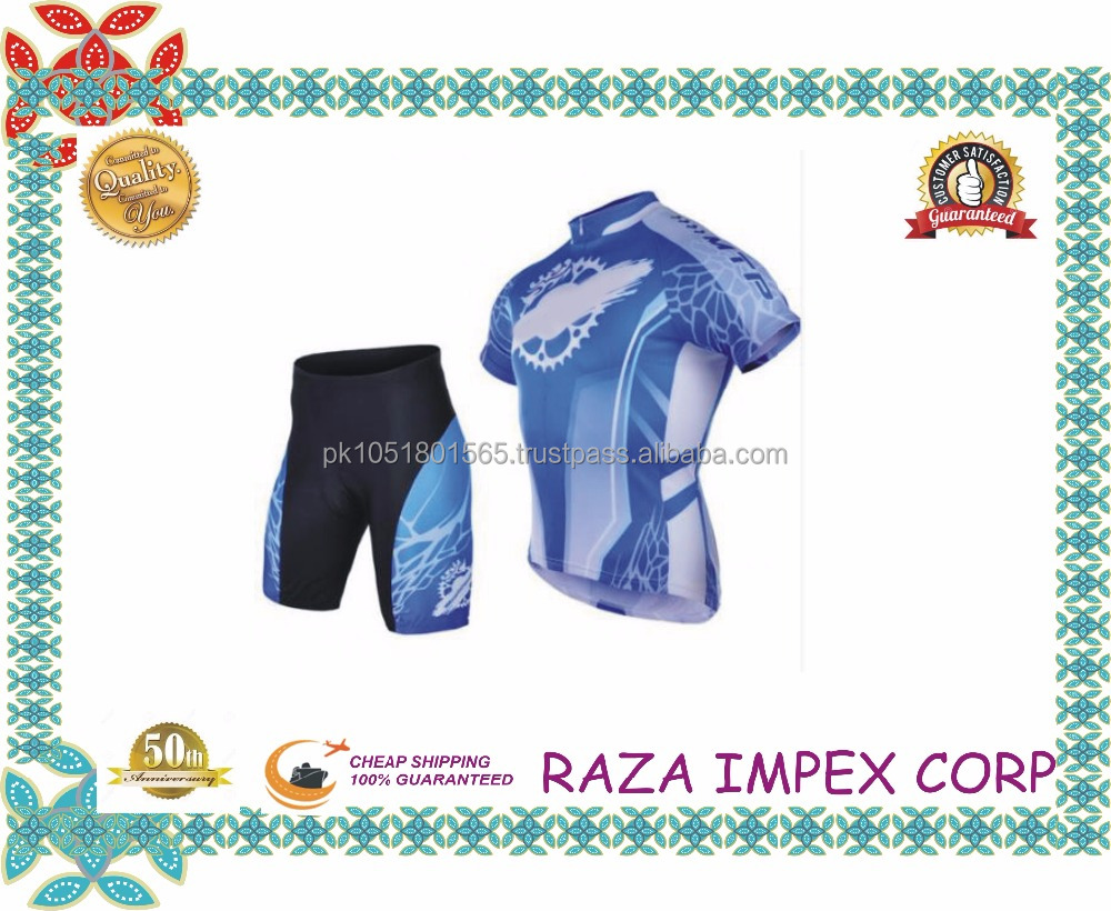 Custom Made Sublimation Wholesale bike Wear Uniforms cycling Clothing for Ladies and men