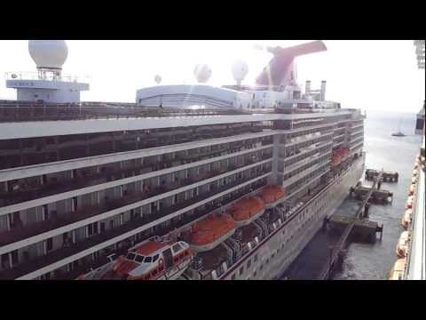 Funniest Cruise Ship Horn Battle Carnival Glory Vs. Carnival Miracle