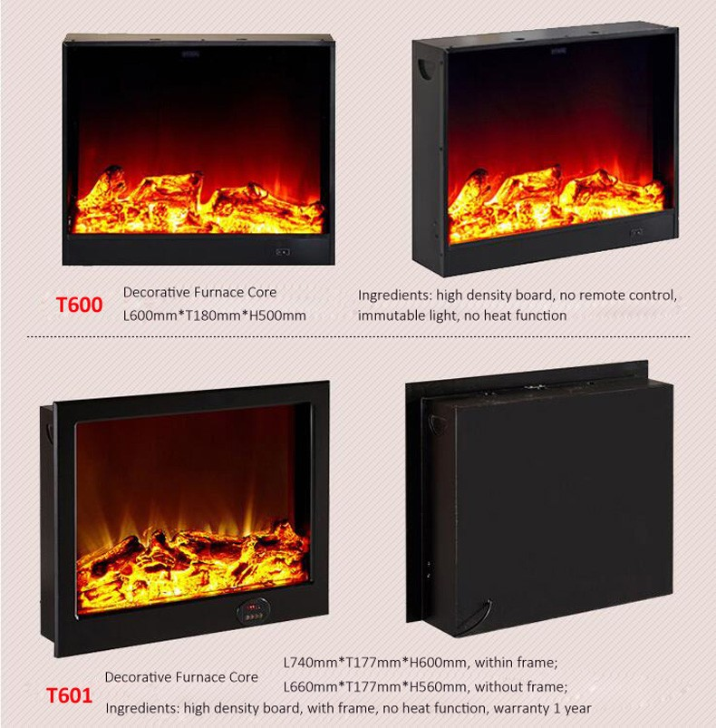New design electric fireplace with low price
