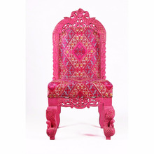 Pink Indian Classic design well load capacity Garden furniture,outdoor garden ,Dining Chair