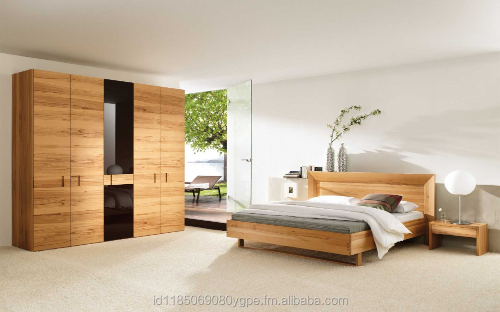 Natural Wood Bedroom Design