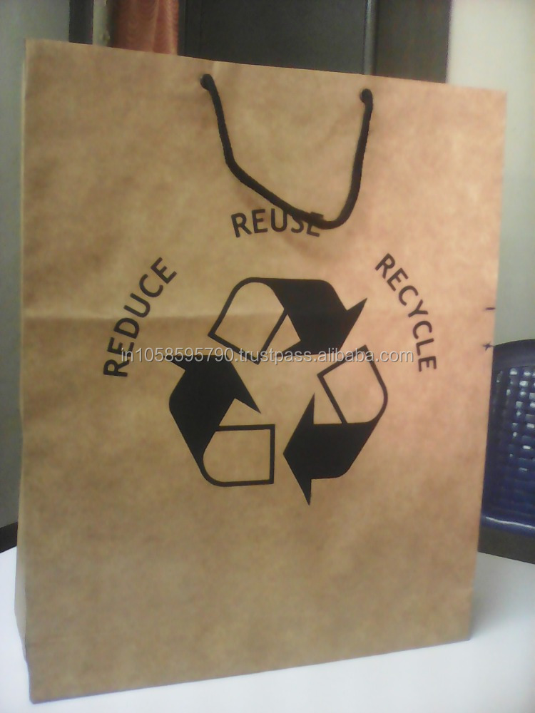 Export Quality Paper Shopping Bags