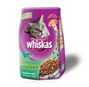 WHISKAS Adult, Junior Cats Dry Food With Beef, Delice Meats, Salmon, Turkey