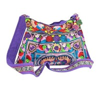 Ethnic embroidery handmade handbag from Vietnam