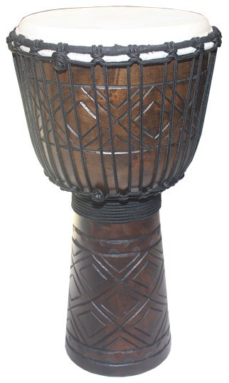 JM-03 wooden Jammer Djembe Series, wood hand drum, percussion music instrument