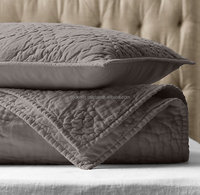 New indian design pattern stone washed linen quilt wholesale price linen stone washed quilt