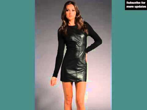 Leather Dresses Pic Collection | Designer Leather Jackets & Clothing Pictures For Women