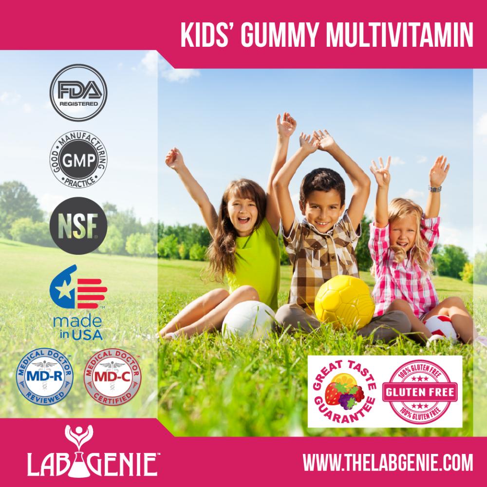 Kids' Gummy Multivitamin (private Label/oem/white Label Or Stock Brands  Available) - Buy Kids Gummy Multivitamin,Children's Multivitamin,Private  Label
