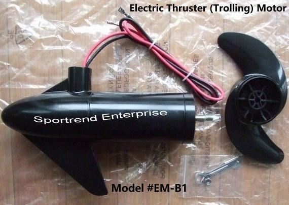 12v/24v Electric Thruster Trolling Motor For Pedal Or Kayak Boat Or For  Fishing Kontiki Torpedo - Buy Electric Trolling Motor Product on Alibaba com