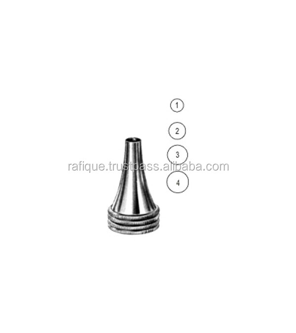 Hartmann Ear Specula 4.0mm, 5.0mm, 6.0mm, 7.5mm / Otology Instruments Rafique Enterprises