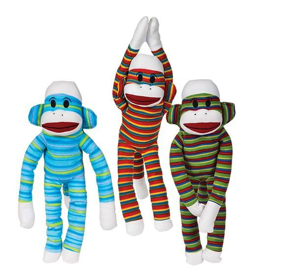 "23"" SOCKS THE MONKEY PLUSH"