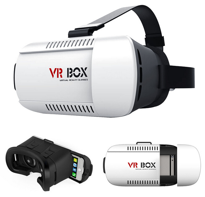 Head mount google cardboard vr box 3d adult video glasses virtual reality equipment