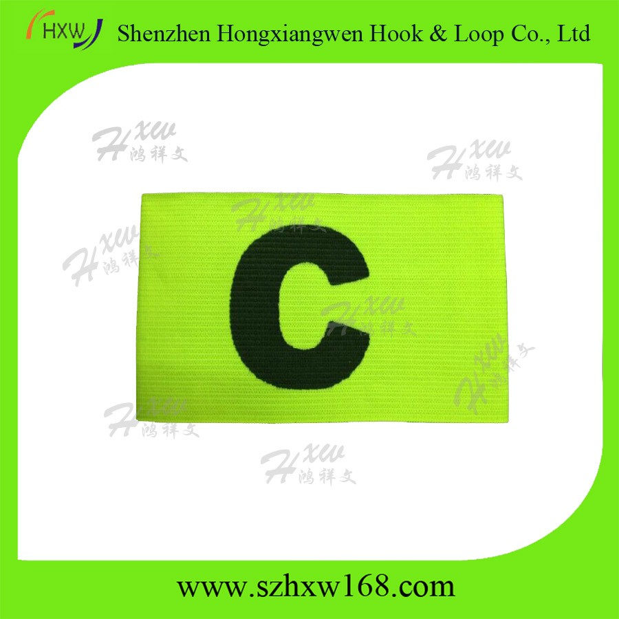 Skillful manufactyre custom captain band new captain armband