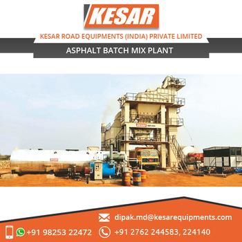 Asphalt Plant / Asphalt Batch Mix Plant For Road Construction From Kesar -  Buy Asphalt Mix Plant Manufacturer,Asphalt Mix Plant Supplier,Asphalt Mix