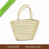 Eco seagrass laundry bag, beach bag, natural handbag straw folding made in Vietnam - SG 06 11 026 1 (42-25x16xh26-49)