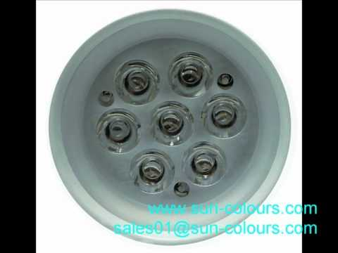 LED lights housing LED lights shell LED indoor lights shell parts