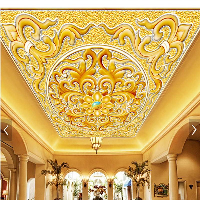3d high definition cheap ceiling murals wallpapers picture for Cheap mural wallpaper