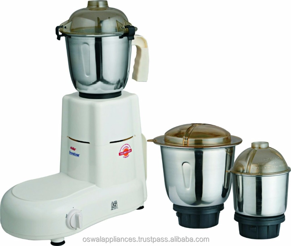 """Krazzy"" 500 Watts Mixer Grinder With 3 Jar"