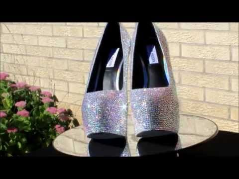 Wedding Shoes - Strass Shoes -Bridal Shoes  -Bling Shoes